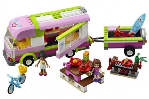 Adventure Camper playset Lego Friends