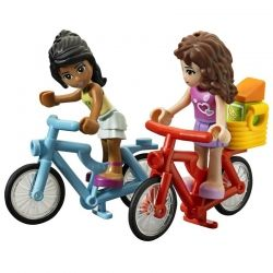 LEGO Friends Camper camping gear bikes