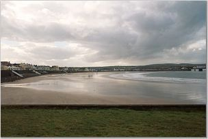 Kilkee Beach At Low Tide