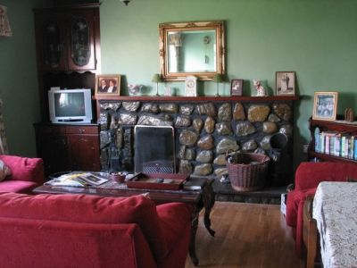 Sitting Room at Rosewood Cottage B&B