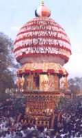 Rath, the temple car or holy chariot