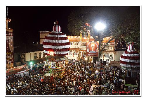Mangalore car festival celebration