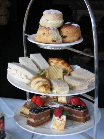 Teatime at Adare Manor