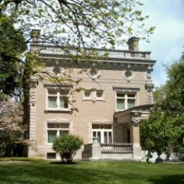 Restored Ruthmere house and museum