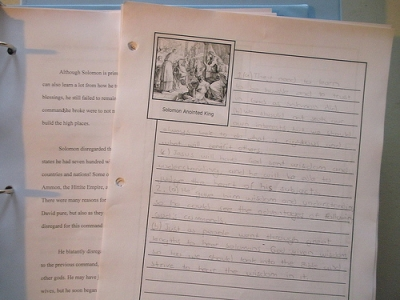 Notebook Pages Can Lead to Formal Essays