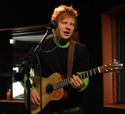 Source Flickr: Ed Sheeran Performs On Walmart Soundcheck Risers - January 2013