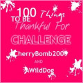 "The ""100 Things I'm Thankful For"" Challenge"