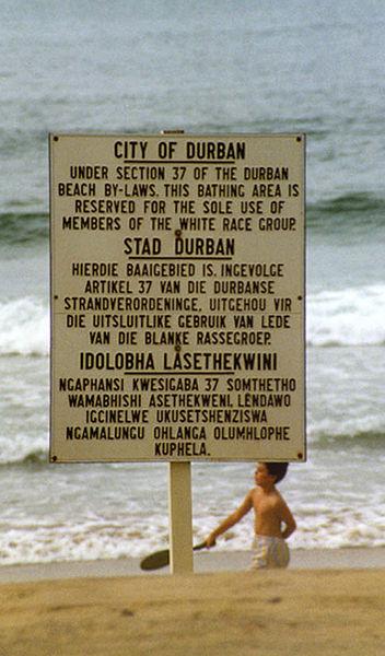 Durban Sign 1989