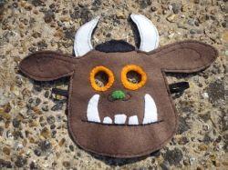 Handsewn Gruffalo Halloween Mask