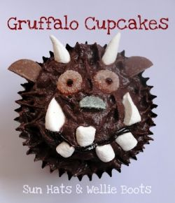 Chocolate Gruffalo Cupcake