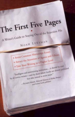 Writing Tips - The First Five Pages