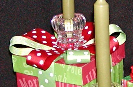 Christmas Table Decorations - Bow