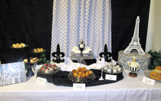 Traditional Dessert Table