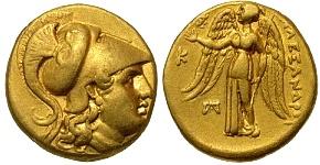 Alexander III The Great, Macedonian Kingdom, 336 - 323 B.C. Gold