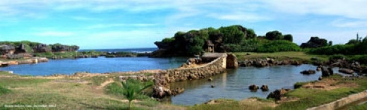 Inarajan Natural Pools - This was one of our first stops when we were sightseeing around the island. It is gorgeous!