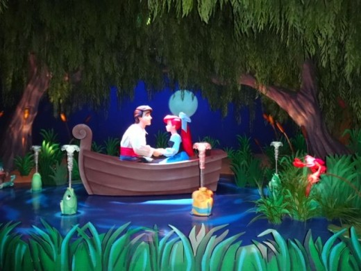 Under the Sea ~ Journey of The Little Mermaid Attraction at Magic Kingdom Park