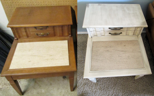 recycle furniture thrift store finds
