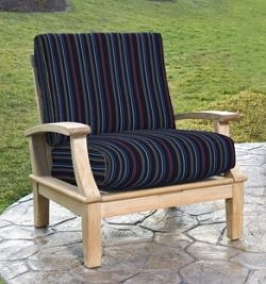 timeline nautical patio chair