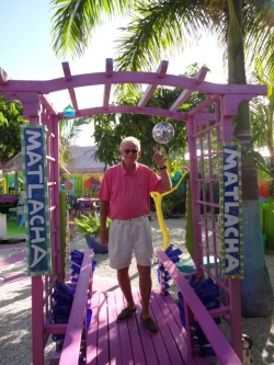 Leoma Lovegrove's Eclectic Outdoor Art Gallery in Matlacha Florida
