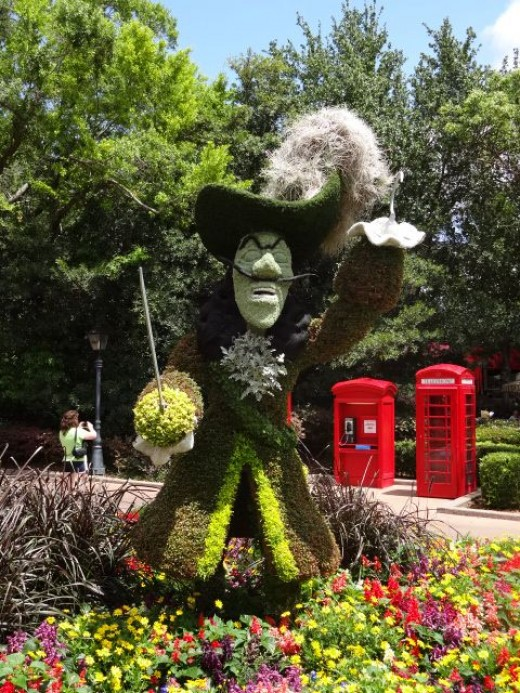 Captain Hook  (From Peter Pan)