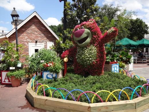 Lotso Bear  (From Disney's Toy Story)