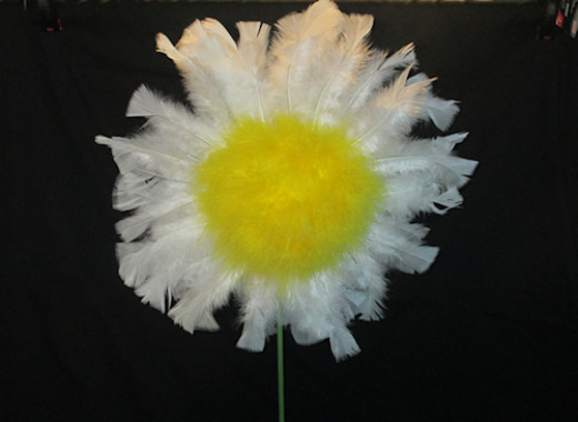 You have now made the flower head of the daisy.