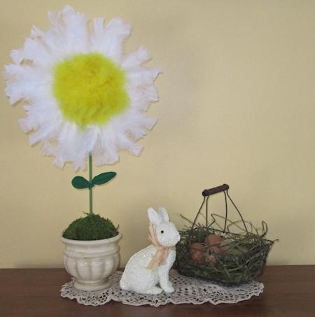 Spring DIY Centerpiece Table Decoration