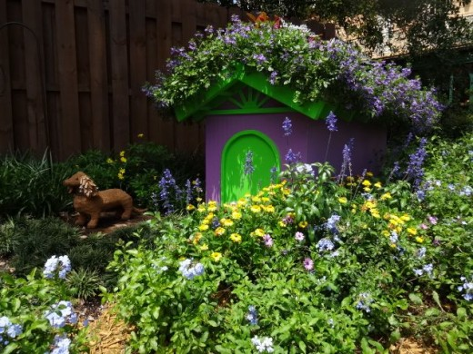 Part of the Backyard Play Garden Display