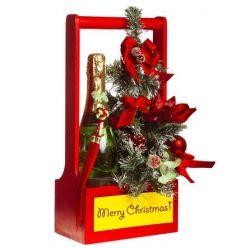 Holiday gift Baskets - assembling