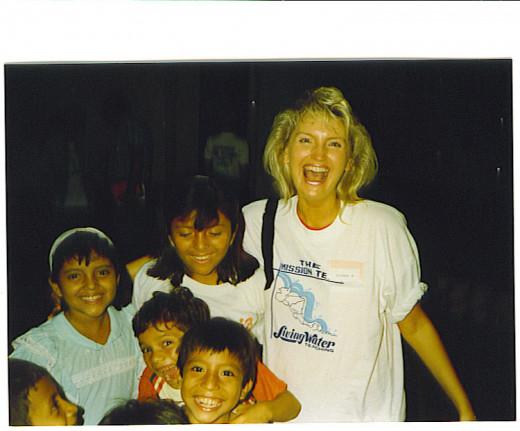 Teaching Children in Guatemala
