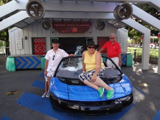 Ricky, Fred and Lucy - Controlling their Desire to Take this Baby for a Test Drive