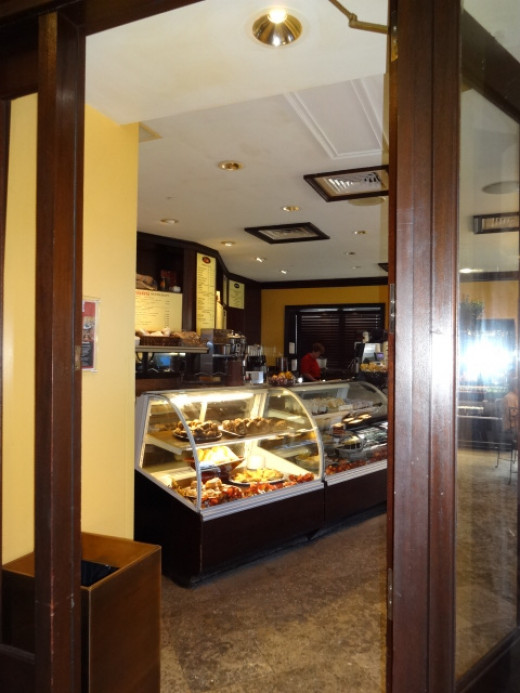 Yummy Casa Monica Cafe - Pastries, Starbucks Coffee, Sandwiches, etc.