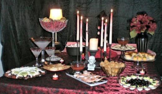Transylvania Buffet Table