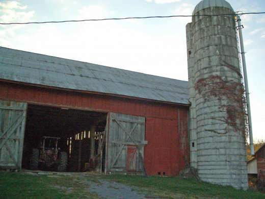 One of My Dad's Barns