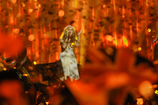 Emmelie de Forest performing her winning act at the Eurovision Song Contest 2013 in Malmö (Photo: Dennis Stachel (EBU))