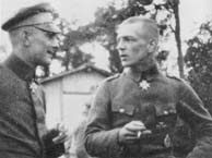 Erich Lowenhardt and Lothar Von Richthofen