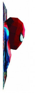 Spiderman Looks Like He's Jumping Out Of The Puzzle