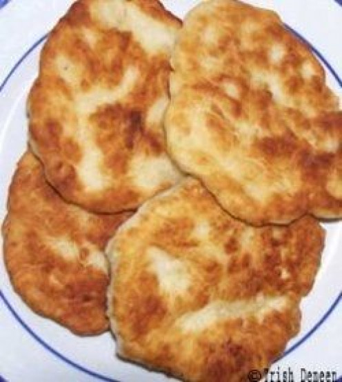 Bannock bread rounds
