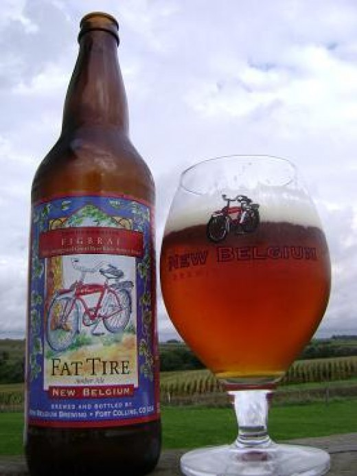 A popular beer made by local micro-brewery, New Belgium Brewing Company