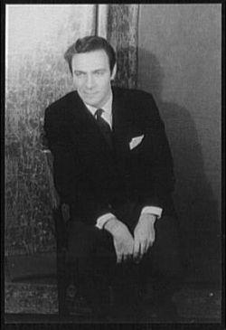Christopher Plummer 1959.  Credit:  Carl Van Vechten
