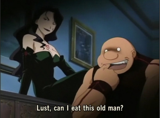 Lust, can I eat him?
