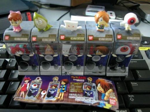 Japanese Anime Mini Capsule Machine Gashapons