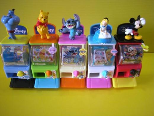 Another Disney Series Mini Capsule Machine Gashapons