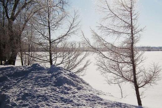 Winter at Lake Mendota