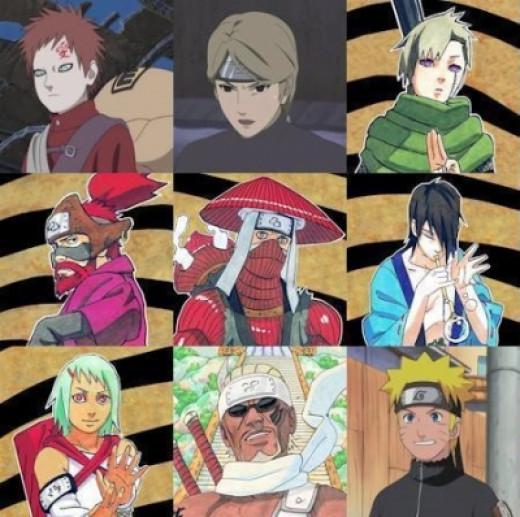 The Nine Jinchuuriki