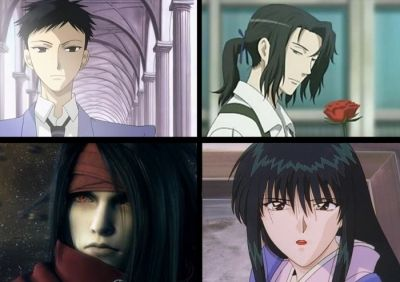 takashi morinozuka/Hagi/Vincent valentine/Megumi Takani