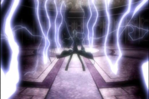 Abel Wielding Electricity!