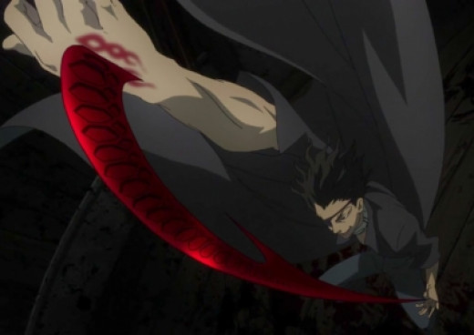 Senji extending his Crow Claw