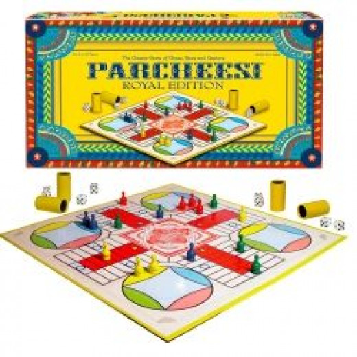 Royal Edition Parcheesi Game Set