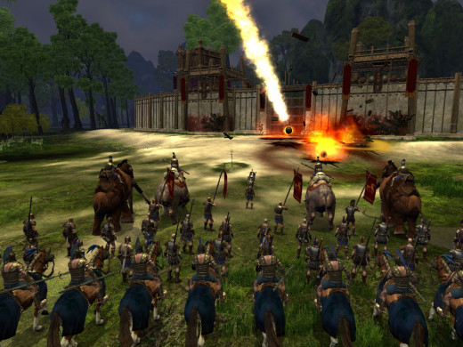 A screenshot from Age of Konan